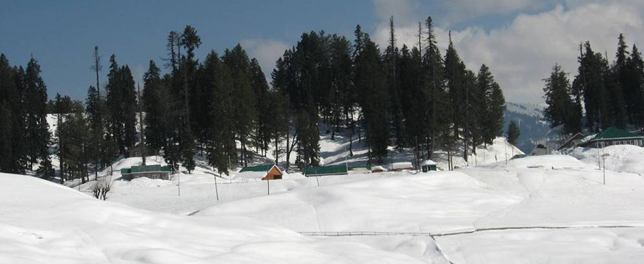 Gulmarg Fully Snow Covered