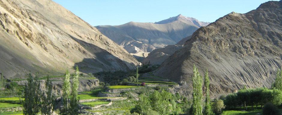 Mountains On the Way To Ladakh