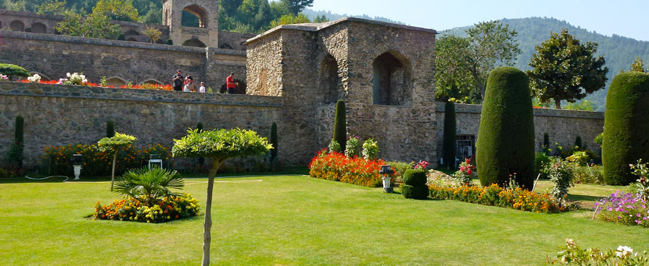 Pari Mahal. One of the best places in Srinagar City